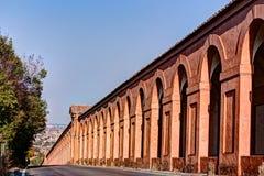 Portyk Di San Luca, Bologna zdjęcie stock