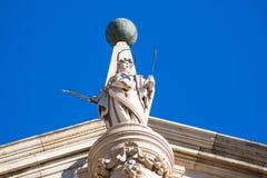 Portyk drzwi przebaczenie, katedra Toledo zdjęcie royalty free