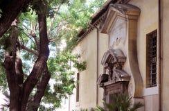 Portyk na starym budynku zdjęcia royalty free
