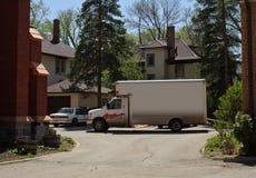 poruszająca ciężarówka zdjęcia royalty free