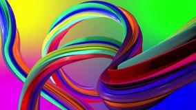 Poruszający kolorowy abstrakcjonistyczne linie tła illustratin tęczy bezszwowy kostiumów wektoru tapety well royalty ilustracja