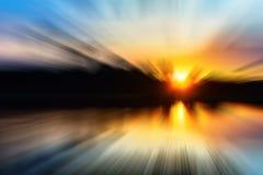 Poruszający Szybki Wysoki prędkości pojęcie Obrazy Stock