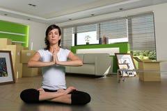 poruszający zen Zdjęcia Stock