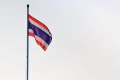 Poruszająca Tajlandzka flaga zdjęcie royalty free