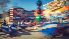 Poruszający carousel przerwy taniec Obraz Royalty Free