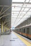 Poruszający metro w Beijing Zdjęcia Stock