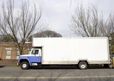 Poruszający samochód dostawczy Obraz Royalty Free