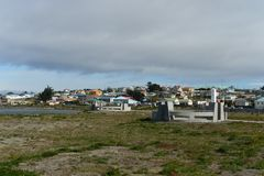 Porvenir is a village in Chile on the island of Tierra del Fuego Stock Images