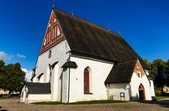 Porvoo大教堂,芬兰 免版税库存照片