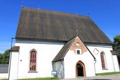 Porvoo的大教堂 库存照片