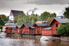Porvoo芬兰 免版税图库摄影
