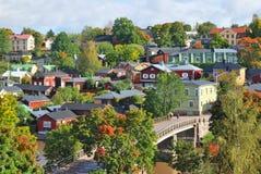 Porvoo,芬兰 免版税库存照片