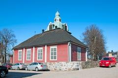Porvoo Φινλανδία εκκλησία μικρή Στοκ φωτογραφίες με δικαίωμα ελεύθερης χρήσης