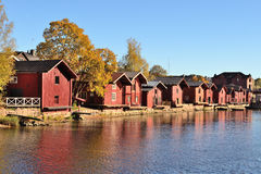 Porvoo architecture Stock Photos