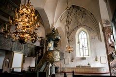 Porvoo - cathédrale Photo libre de droits