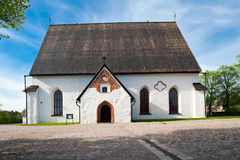 Porvoo Cathedral. On the background of blue sky, spring, May Royalty Free Stock Photos