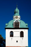 Porvoo cathedral clocktower Royalty Free Stock Image