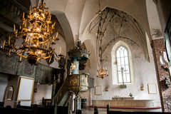 Porvoo - cattedrale Fotografia Stock Libera da Diritti