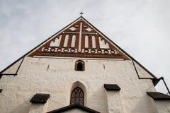 Porvoo - cattedrale Immagini Stock
