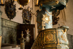 Porvoo - cattedrale Fotografie Stock Libere da Diritti
