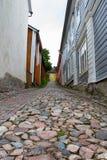 Porvoo Cobblestones Stock Photography