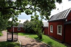 Porvoo en Finlandia Fotos de archivo libres de regalías