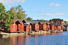 Porvoo in the evening Royalty Free Stock Image