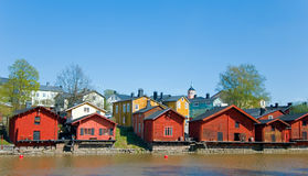 Porvoo. Finland. Royalty Free Stock Images
