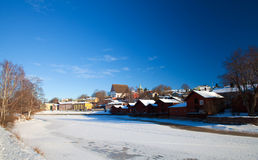 Porvoo, Finland Stock Foto's
