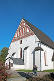 Porvoo. Finland. The City Cathedral Royalty Free Stock Photography