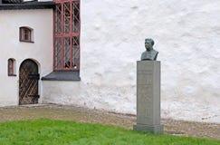 Porvoo finland Frans Ludvig Schauman Sculpture royalty-vrije stock afbeelding