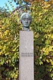Porvoo. Finland. Fredrika Runeberg Sculpture Royalty Free Stock Photo
