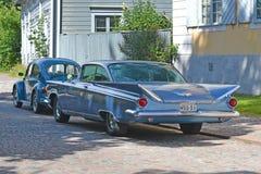 Porvoo, Finland - Juli 25, 2015: Buick Electra, 1959 Stock Afbeelding