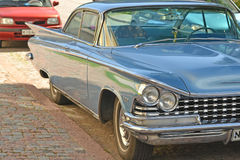 Porvoo, Finland - July 25, 2015: Buick Electra, 1959, headlight Stock Photography