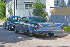 Porvoo, Finland - July 25, 2015: Buick Electra, 1959 Stock Image