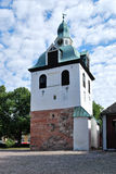 Porvoo, Finland. Medieval bell-fry, 14 c. Royalty Free Stock Images