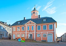 Porvoo. Finland. The Old Town Hall Stock Photo