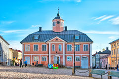 Porvoo. Finland. The Old Town Hall Royalty Free Stock Images