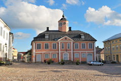 Porvoo, Finland. Old Town Hall Stock Image
