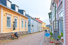 Porvoo. Finland. The Old Town Royalty Free Stock Images