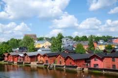 Porvoo, Finland. Royalty Free Stock Images