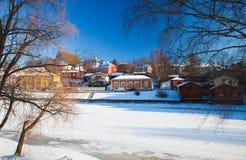 Porvoo, Finlande Photos libres de droits