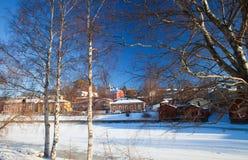 Porvoo, Finlande Photographie stock