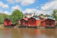 Porvoo, Finlandia Imagem de Stock Royalty Free