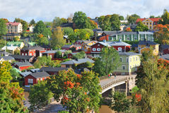Porvoo, Finlandia zdjęcia royalty free