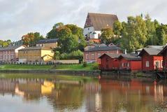 Porvoo, Finlandia Fotografia Stock