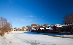 Porvoo, Finlandia Fotografie Stock