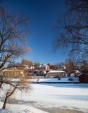 Porvoo, Finlandia Fotografie Stock Libere da Diritti