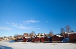 Porvoo, Finlandia Immagine Stock Libera da Diritti