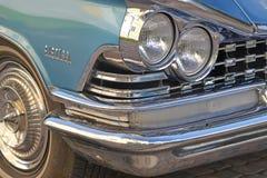 Porvoo, Finlandia - 25 luglio 2015: Buick Electra, 1959, faro Fotografie Stock Libere da Diritti